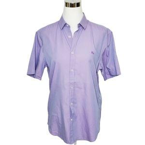 Burberry Brit Purple Button Front Shirt Me…